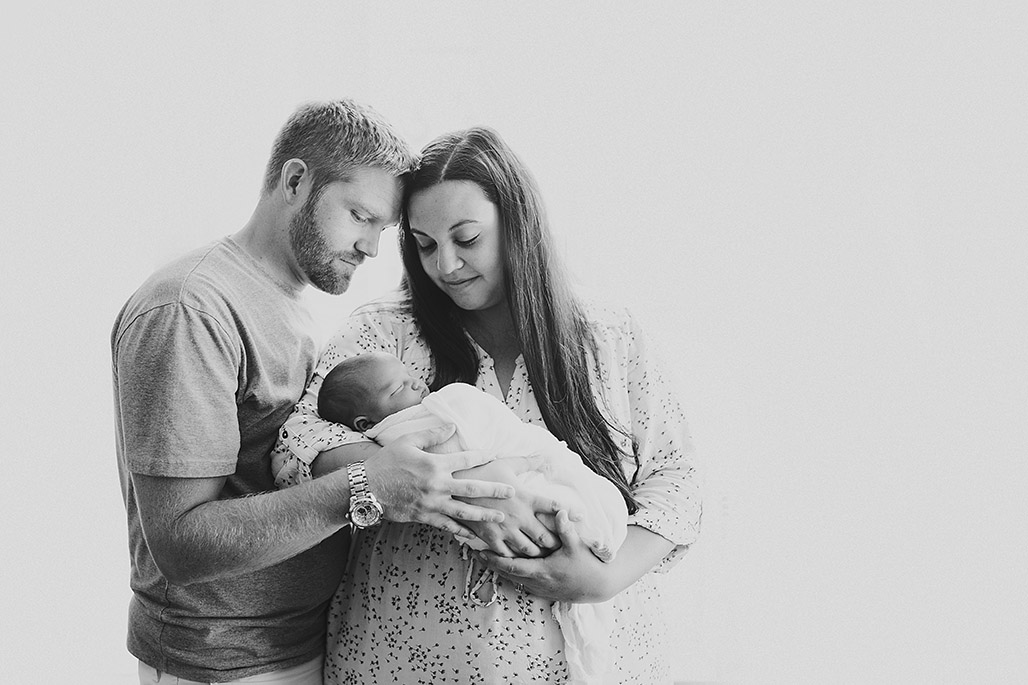 Vermont newborn & family photographer / Driver's newborn session