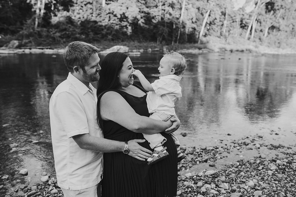 Vermont newborn & family photographer / Gale family session