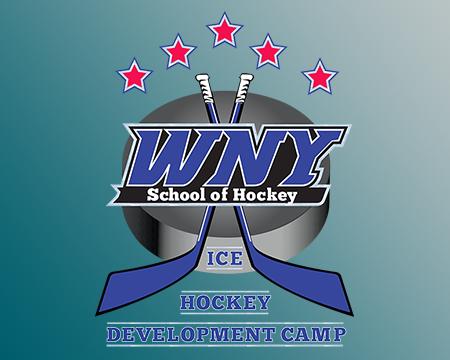 Youth ice hockey development camp through the WNY School of Hockey.