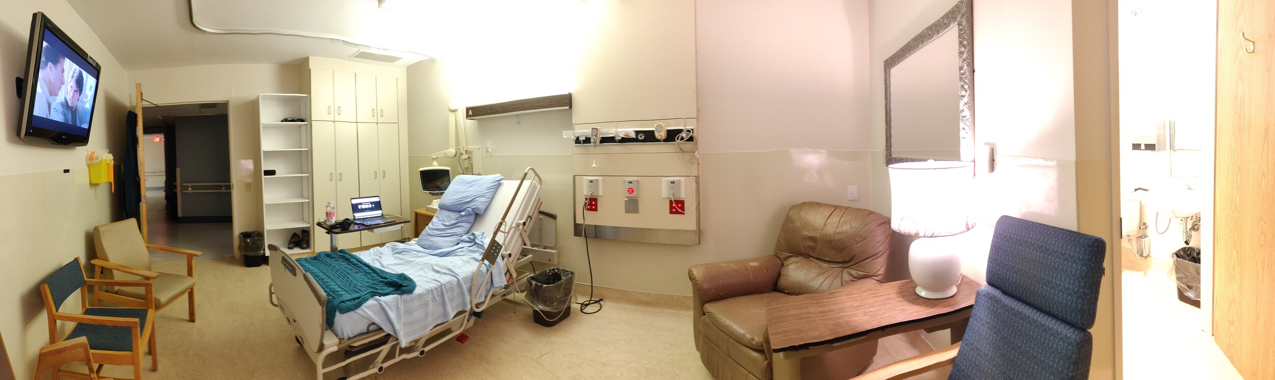 My private room @ Moncton Hospital