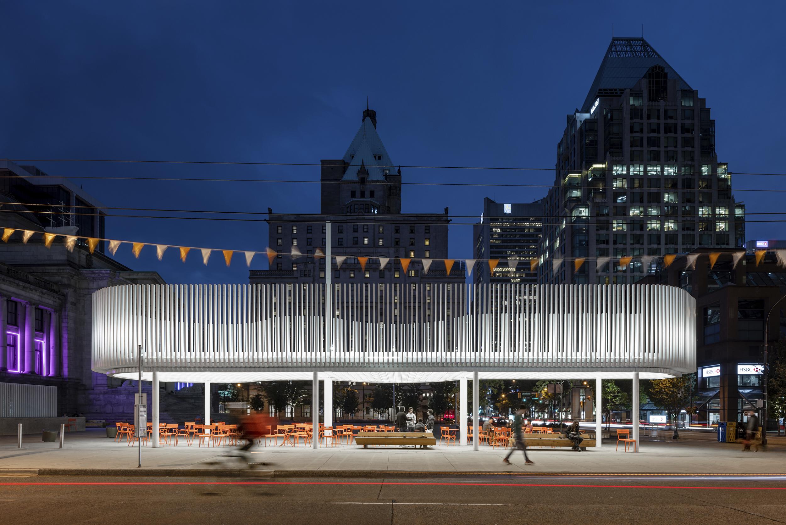 Pavilion at Vancouver Art Museum