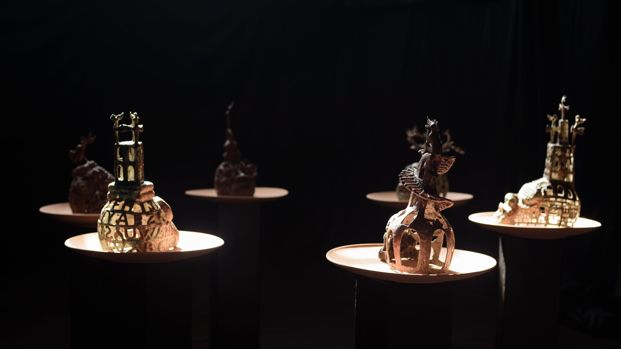 Histoire de têtes, installation, 2018