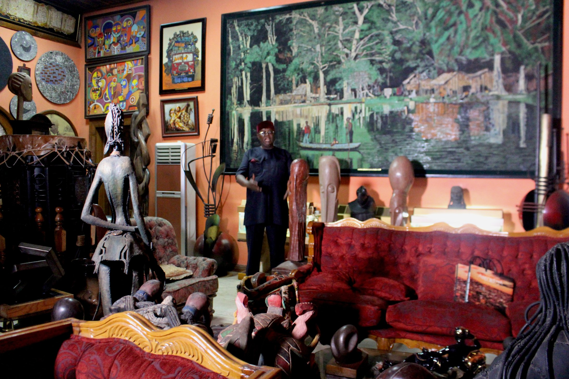 """Prince Yemisi Shyllon, CNN ARTICLE """"LOOKING FOR INVESTMENT? AFRICAN ART IS HOTTER THAN GOLD"""""""