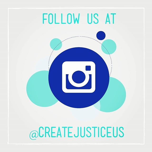 New name, same concept. ___ Make sure to repost and spread the word. All of our social media channels are now @createjusticeus to reflect our commitment and collaboration with all of our partners nationwide.  ___ So, how are you this Monday morning?