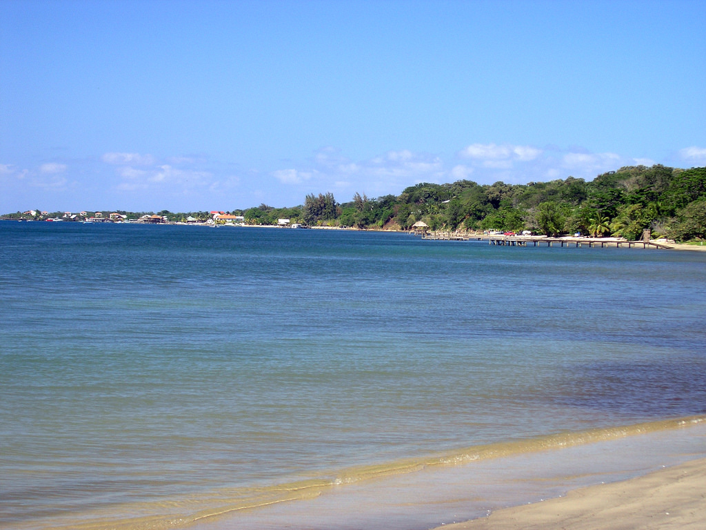 The beach in Honduras, where I realized I was ready to adopt.