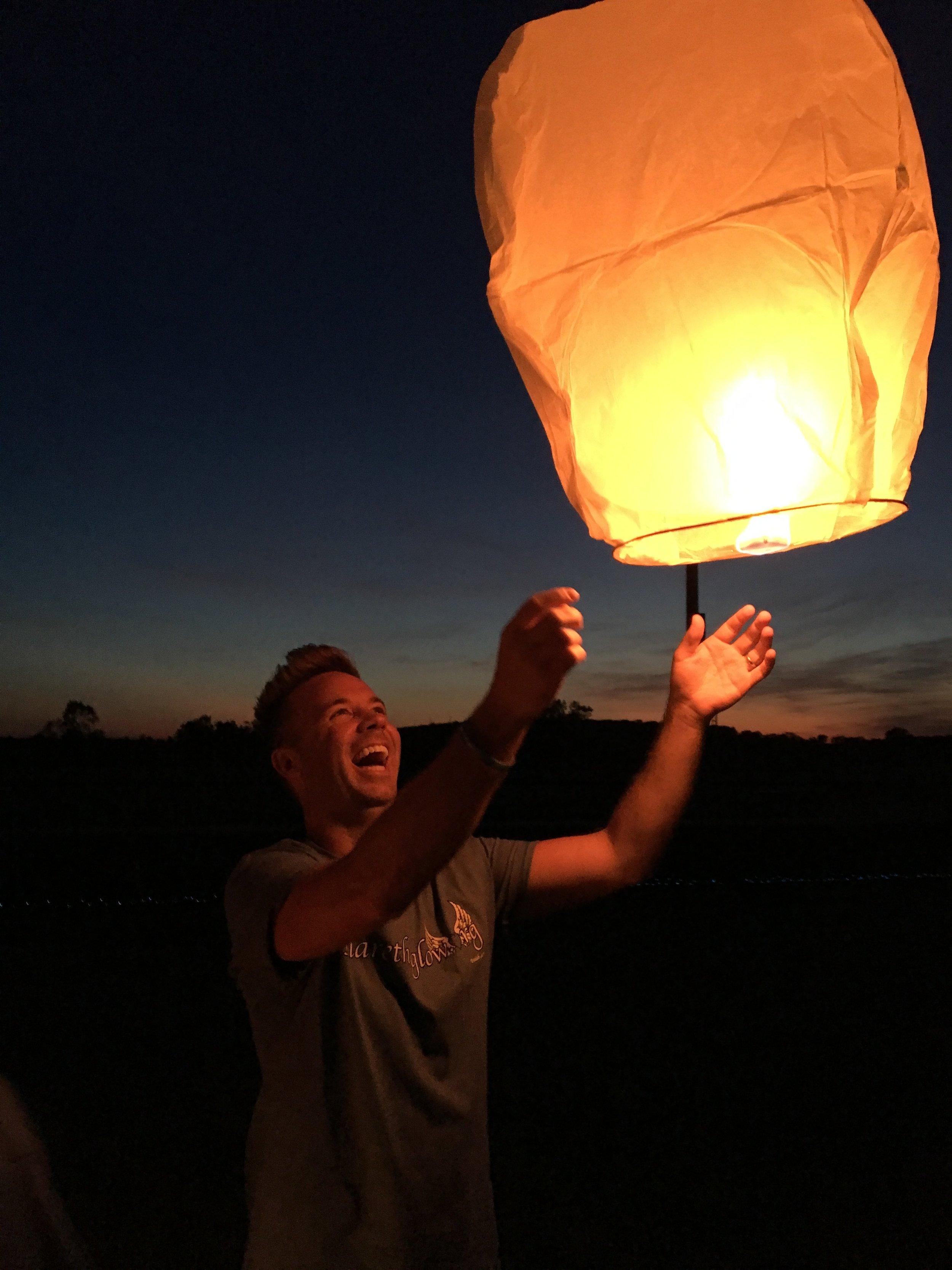 Ryan releases lantern.JPG
