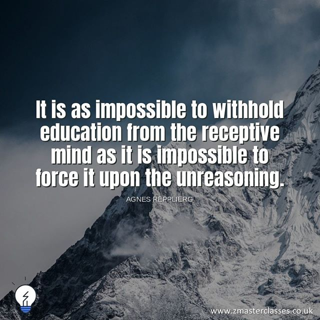 """""""It Is as impossible to withhold education from the receptive mind as it is impossible to force it upon the unreasoning. - Agnes Repplier 😀⠀ .⠀ .⠀ .⠀ .⠀ ⠀ #Alevelmaths #gcsemaths #gcse2019 #edexcel #mathsolutions #masterclasses #londonmasterclass #AlevelmathsTutor #gcsemathstutor #studentlife #london #sixthform #college #Mathstuition #Aleveltuition #gcsemathstuition #studyblogger #study_time #studysession #study #studymood #studytip #mathproblems #mathematicians #mathematic #mathjokes #mathskills #mathematicians #learnandgrow #learner"""