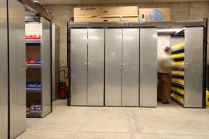 Bin storage on LevPRO