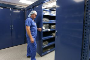 LevPRO mobile storage at Bryan Medical Center