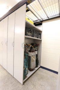 LevPRO provides golf bag storage