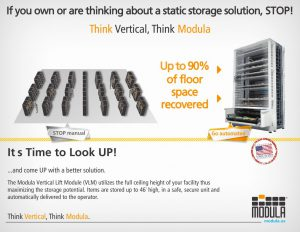 Static Shelving vs Modula Lift