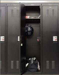 Custom Athletic Lockers 2