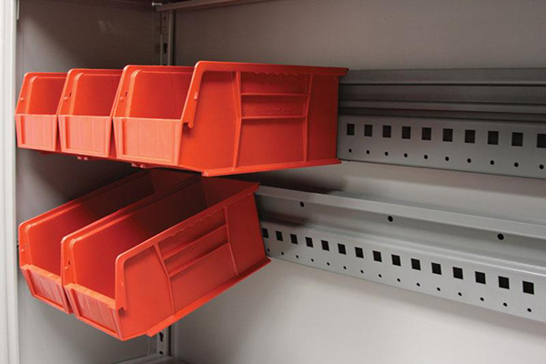 EZRail in 4-Post Shelving