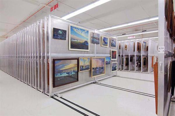 Art Storage Rack