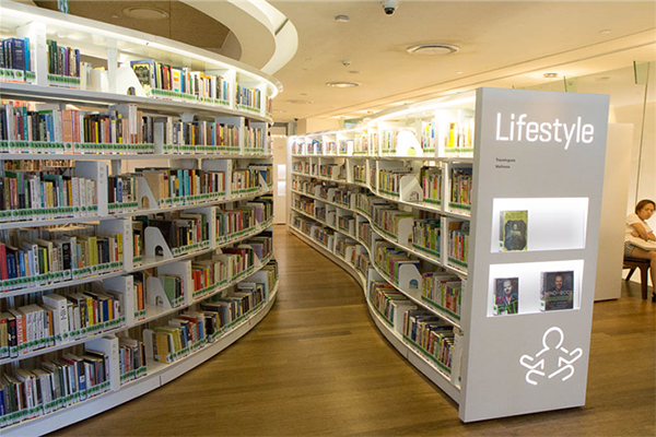 Curved Shelving