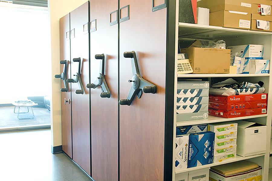 Mechanical Assist Storage
