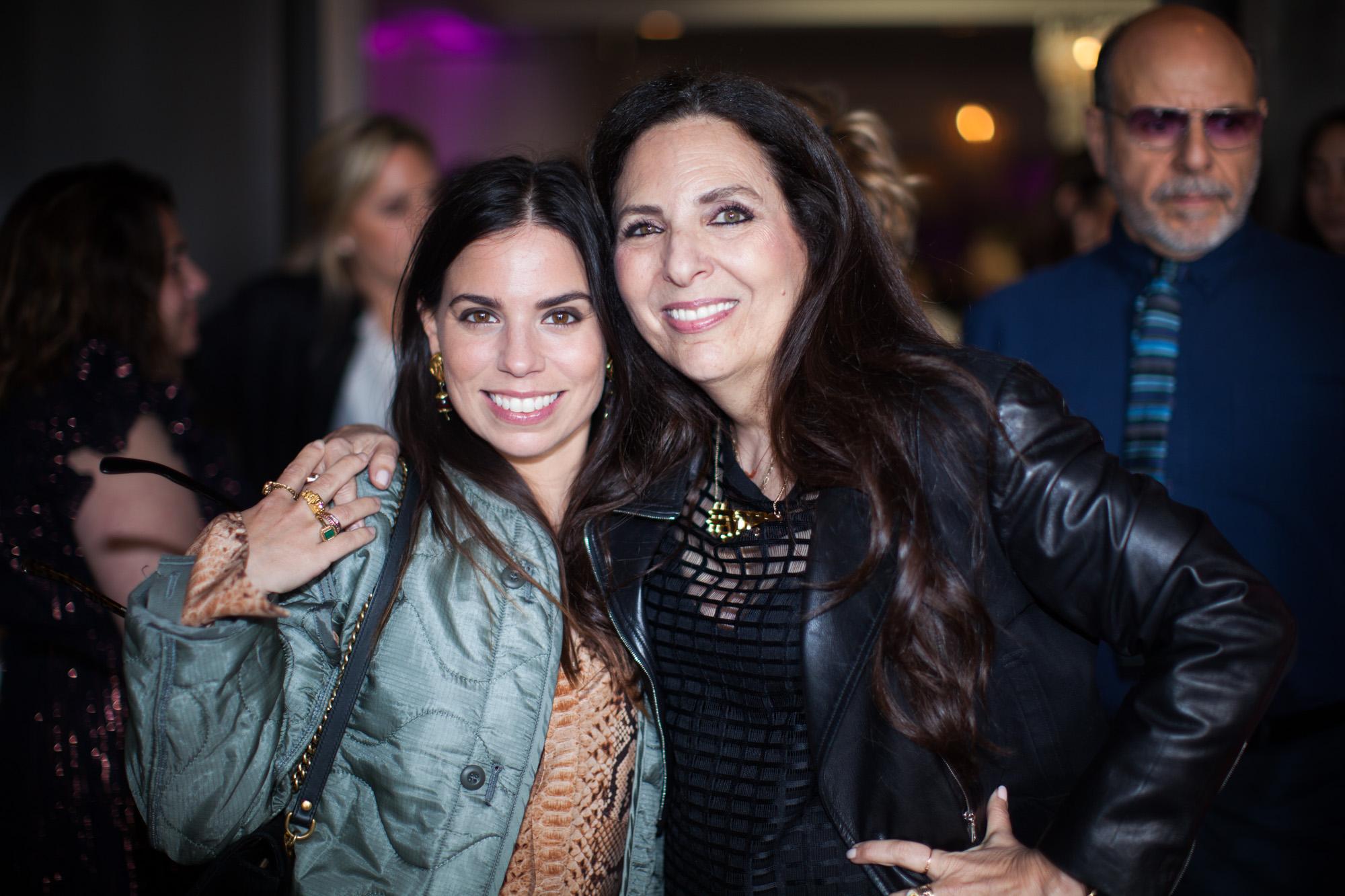 Cofounder Sharon Feldstein with Ally Hilfiger