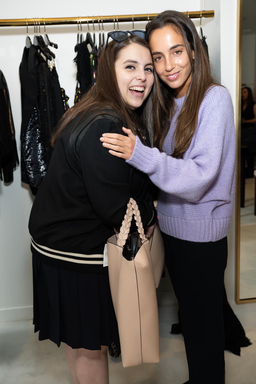 Beanie Feldstein and Gianna Santos