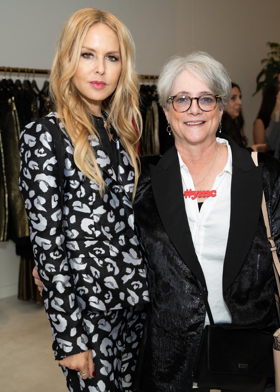 Cofounder Patsy Noah with Rachel Zoe