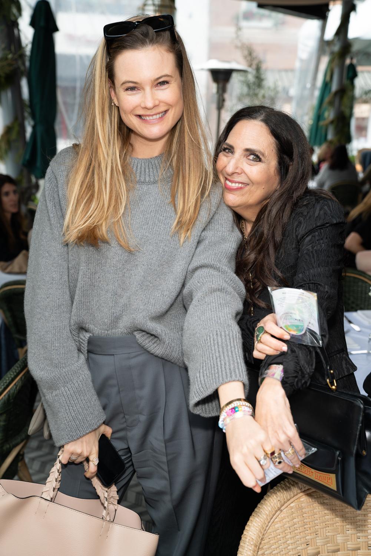 Cofounder Sharon Feldstein with Behati Prinsloo