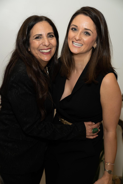 Cofounder Sharon Feldstein with Nicole Riggleman