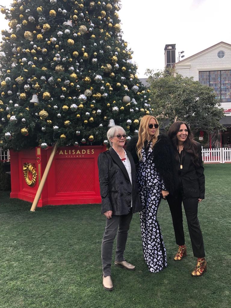 Cofounders Sharon Feldstein and Patsy Noah with Rachel Zoe