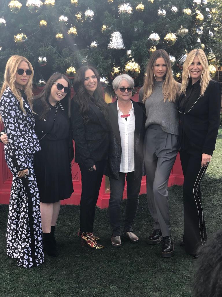 Cofounders with Rachel Zoe, Beanie Feldstein, Behati Prinsloo and Irena Medavoy