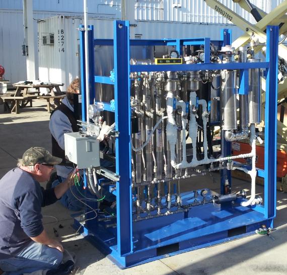 HYCO GTL H2-CO Pilot-Scale Membrane Unit with Mass Flow & Process Control System