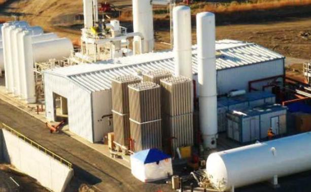 1.0 MM SCFD SMR H2 Generation Plant