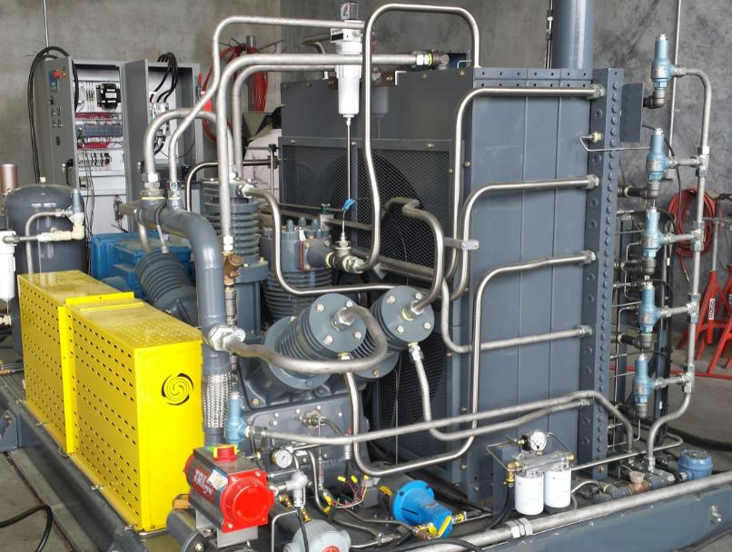 1.2 MM SCFD High Pressure H2 Compressor