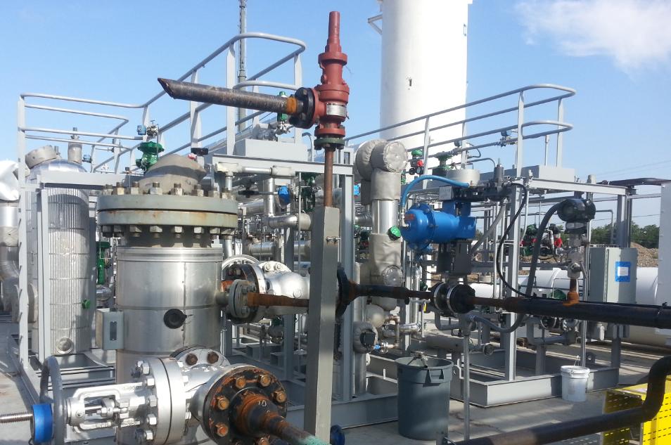 1.0 MM SCFD SMR H2 Plant