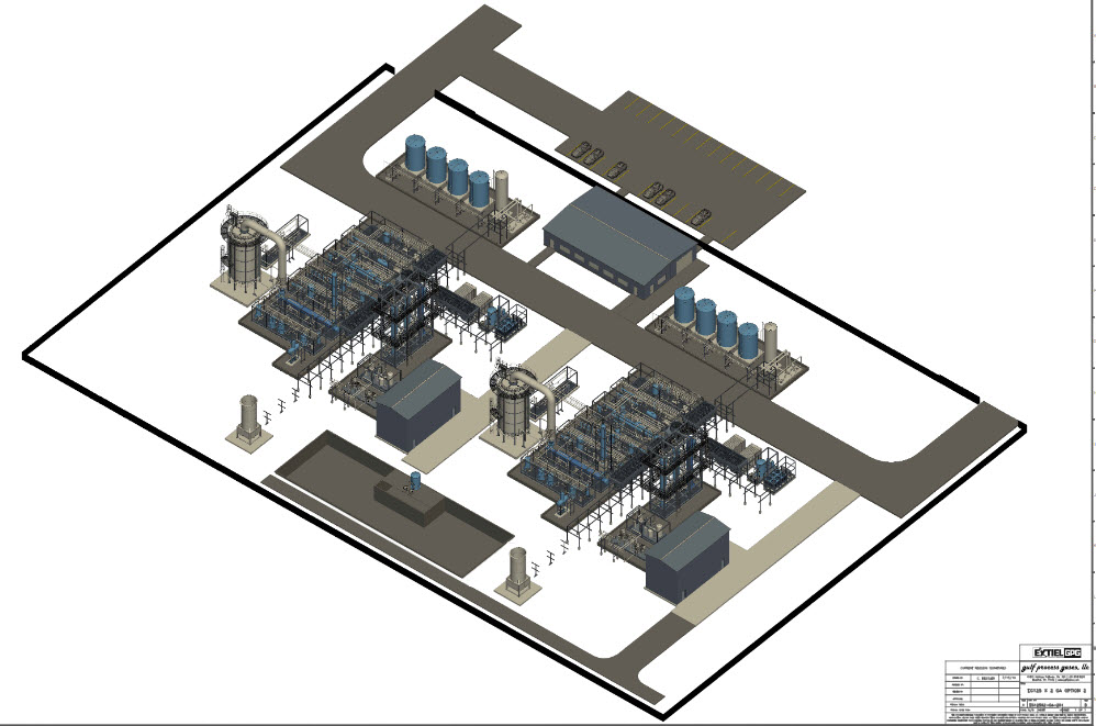 GAS TO CHEMICALS PROCESS PLANT