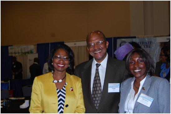 Left to right – Dr. Henrietta Ukwu, Dr. Eddie Neal, and Ms. Ifeyinwa Amadi-Davis