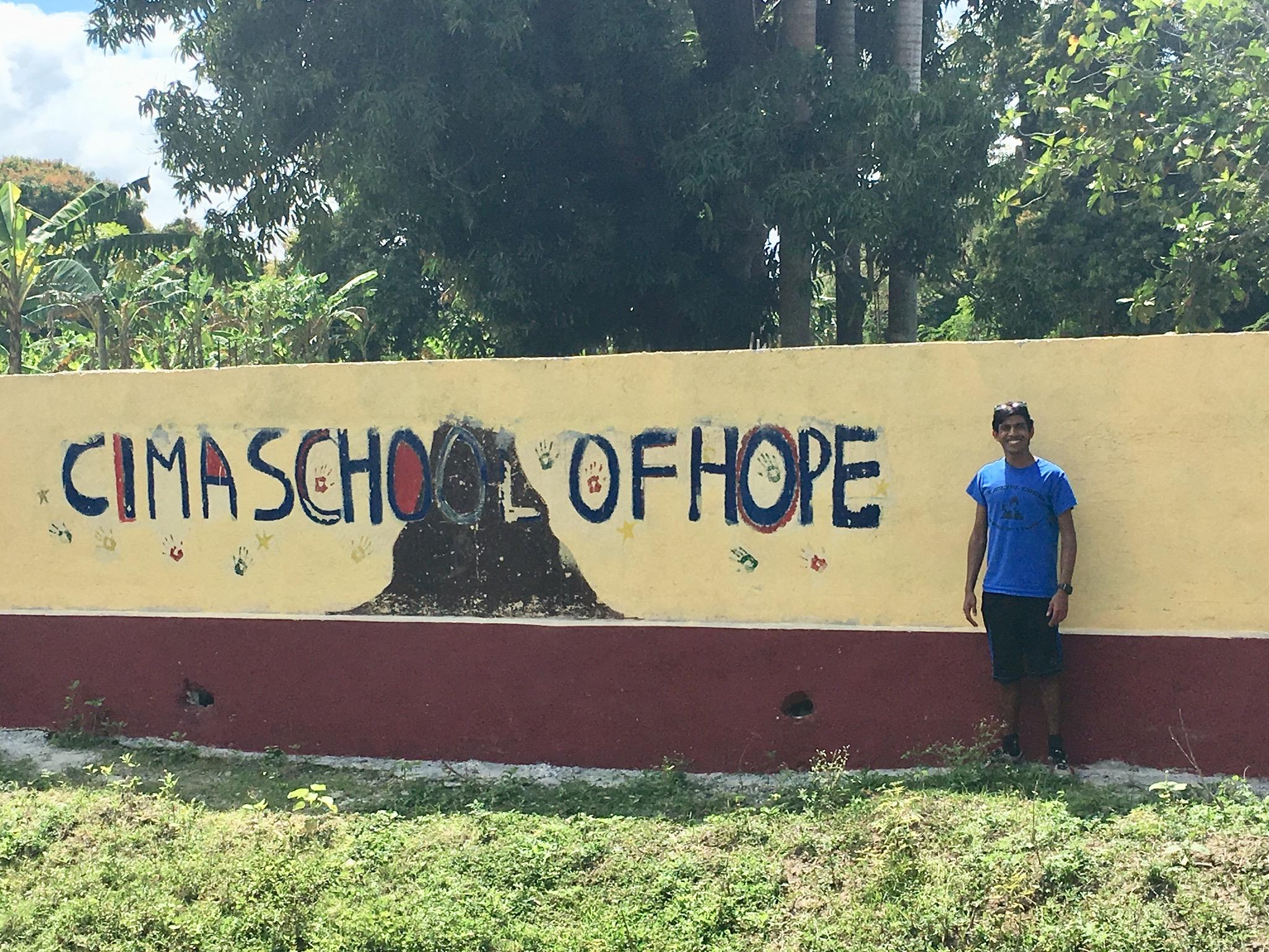 Entrance into Cima School of Hope
