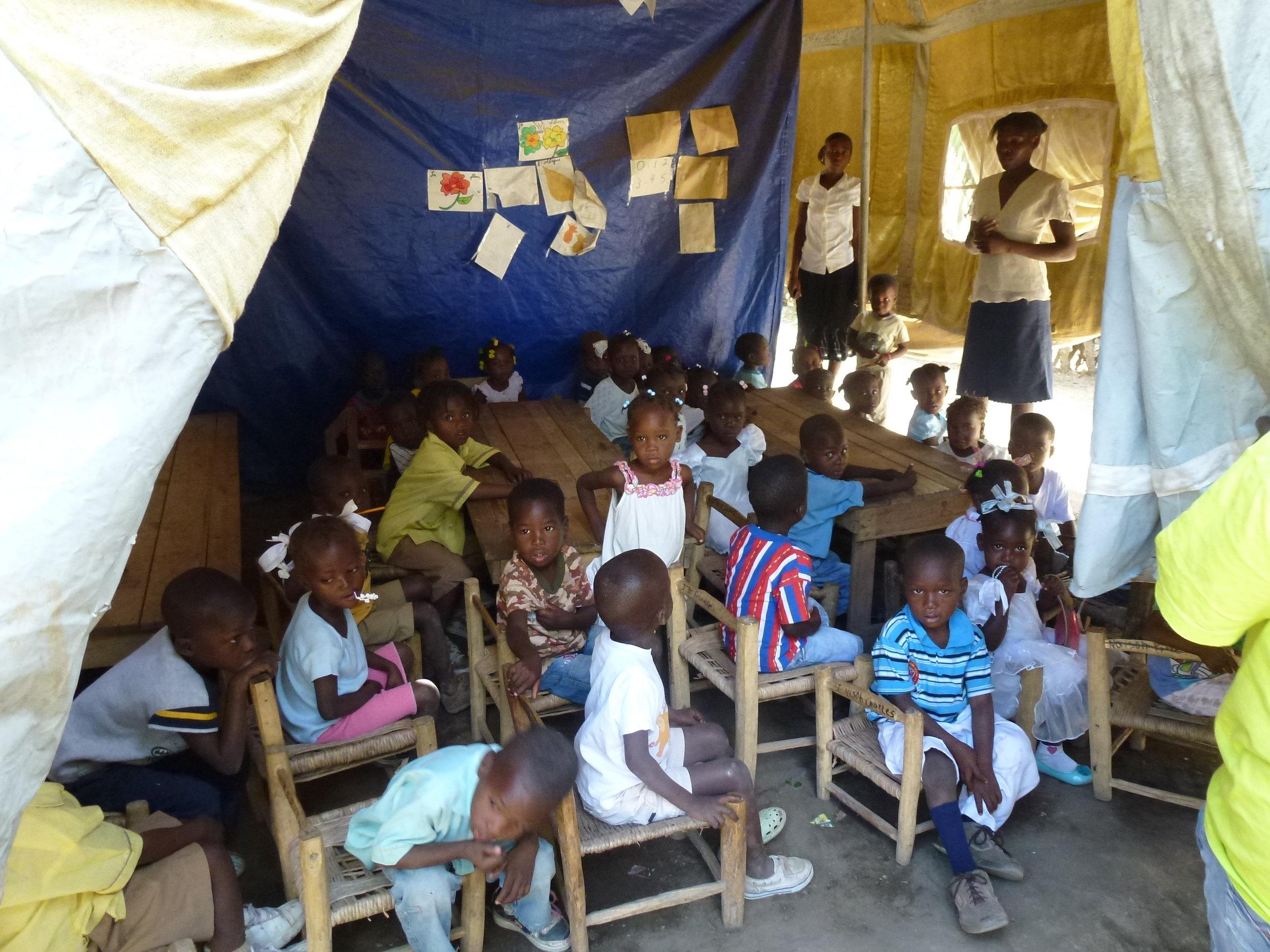Classroom in original Cima School