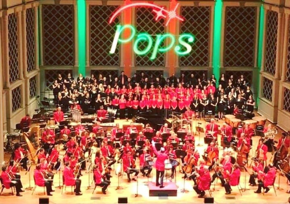 YPCC Partnered with the Cincinnati Pops for a Polar Express performance, Dec 2017