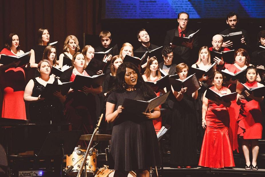 Cincinnati Opera artist Gabriella Sam brought the house down at YPCC's Gala Concert at the Cincinnati Masonic Center, March 2019