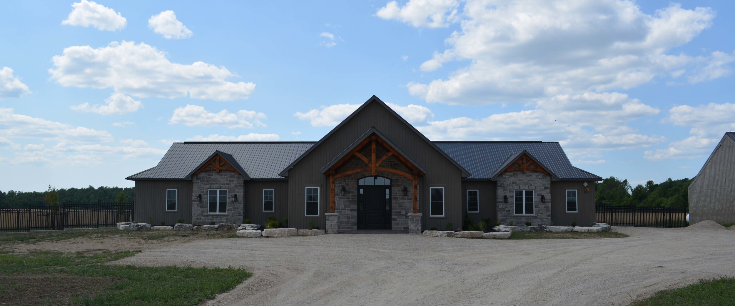 Doodle Creek's State of the art facility built in 2017. See more on the  Facility  link.