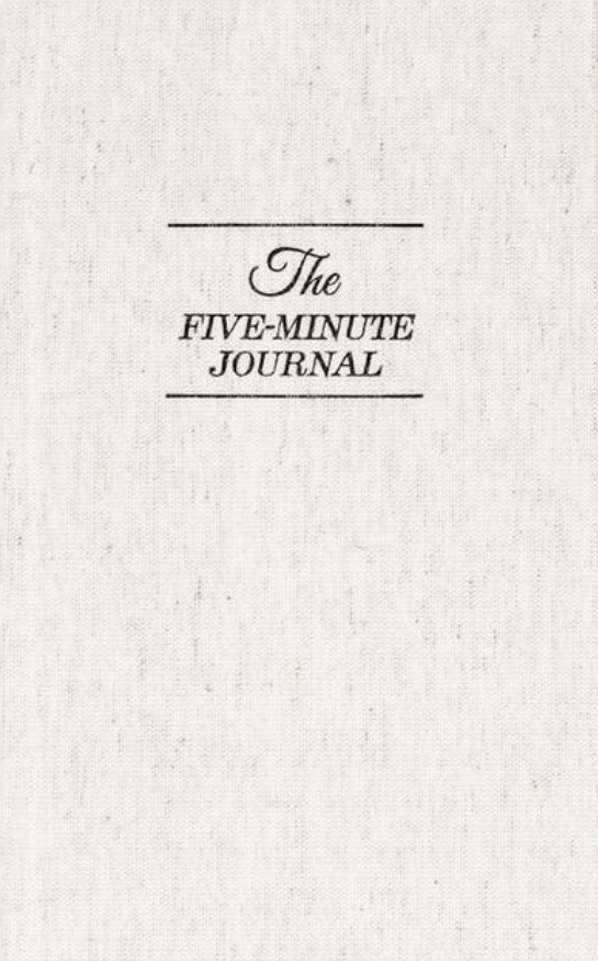 The Five Minute Journal - Hands down, the easiest and fastest way to find your happy! In just a matter of minutes a day, you can reflect on what you're grateful for in your life. From an organizer's perspective, this can go a long way in preventing impulse shopping or over buying! Find your copy HERE