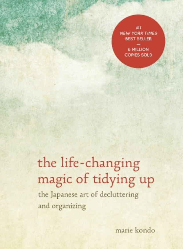 The Life-Changing Magic of Tidying Up - It's a classic guys, really. Love her or envy her, Marie Kondo provides an effective and unique take on being organized. I highly recommend reading this book as you go about your decluttering journey. You can access it HERE