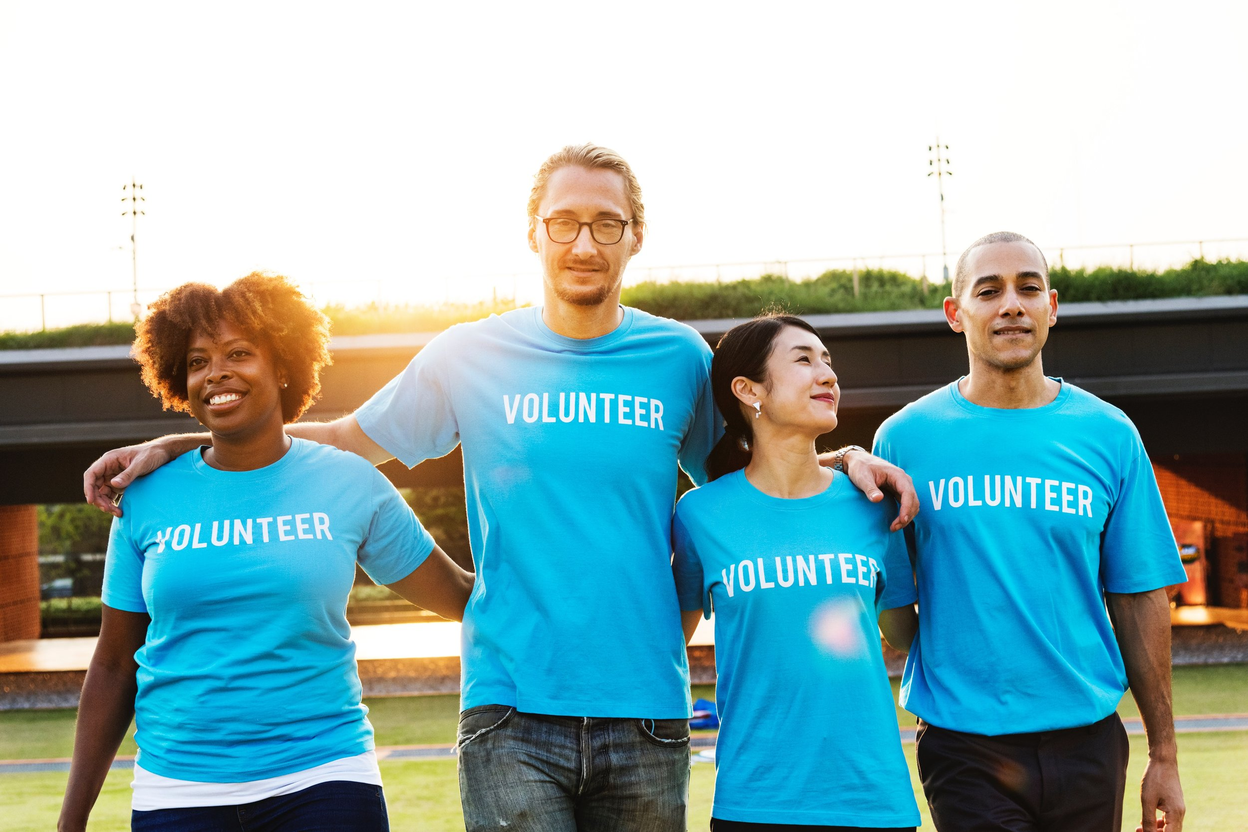 VOLUNTEER - DMT's volunteer program is a way for our community to invest their skills, minds, and hearts in support of our strategic initiatives.