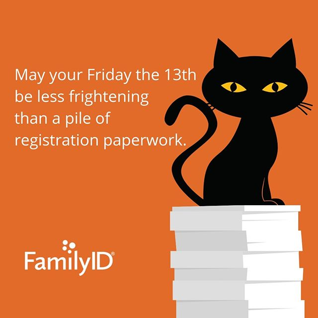 Happy Friday the 13th from your friends at FamilyID! #fridaythe13th