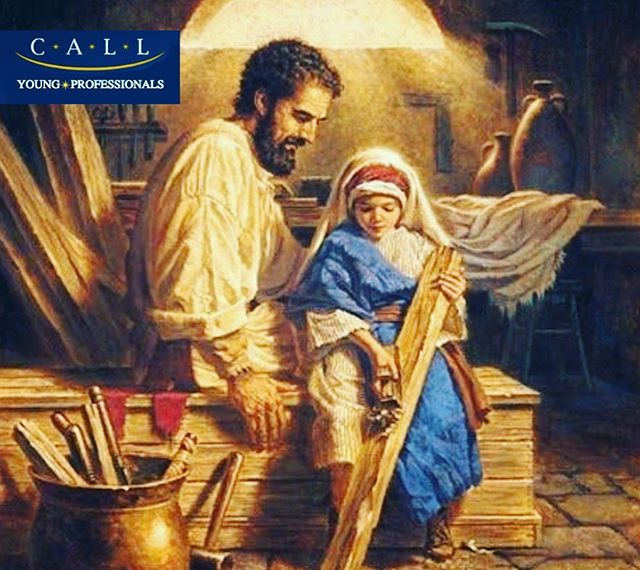 On May 1st, we celebrate the feast of St. Joseph the worker. His example reminds all workers to participate in God's continuing creation each and every day through our own labor. Today is also the celebration of El Dia Del Trabajador in Latin America, we pray for fair labor conditions for all workers.  #stjosephtheworker #youngprofessionals #catholic #latino #leaders #losangeles #california