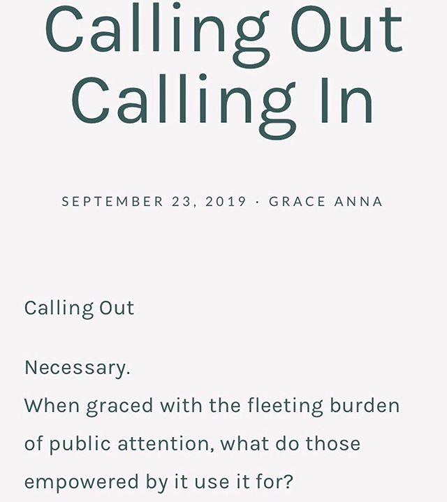 New post up on the @_unfinishedobject object website, one of our founders 𝘎𝘳𝘢𝘤𝘦 𝘈𝘯𝘯𝘢 @astitchtowear has written a piece called:⁣ ⁣ Calling In⁣ Calling Out⁣ ⁣ You can read more by visiting the link in our bio.⁣ ⁣ There are some extremely important questions in her article, sit with them, answer them, share them.⁣ ⁣ #𝐰𝐞𝐚𝐫𝐞𝐮𝐧𝐟𝐢𝐧𝐢𝐬𝐡𝐞𝐝𝐨𝐛𝐣𝐞𝐜𝐭