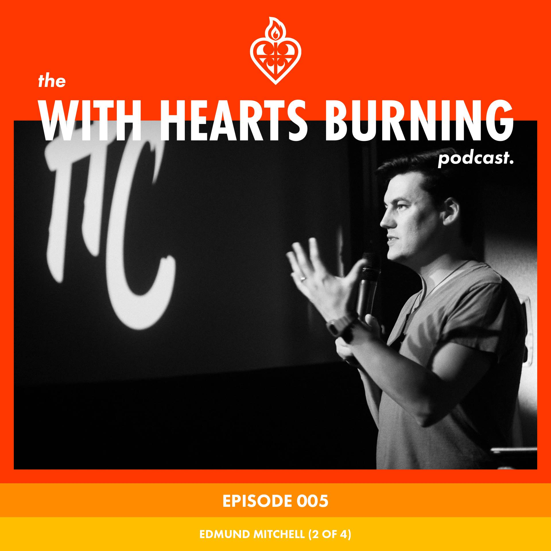 LISTEN TO ALL THE HEAVEN COME KEYNOTES ON THE WITH HEARTS BURNING PODCAST