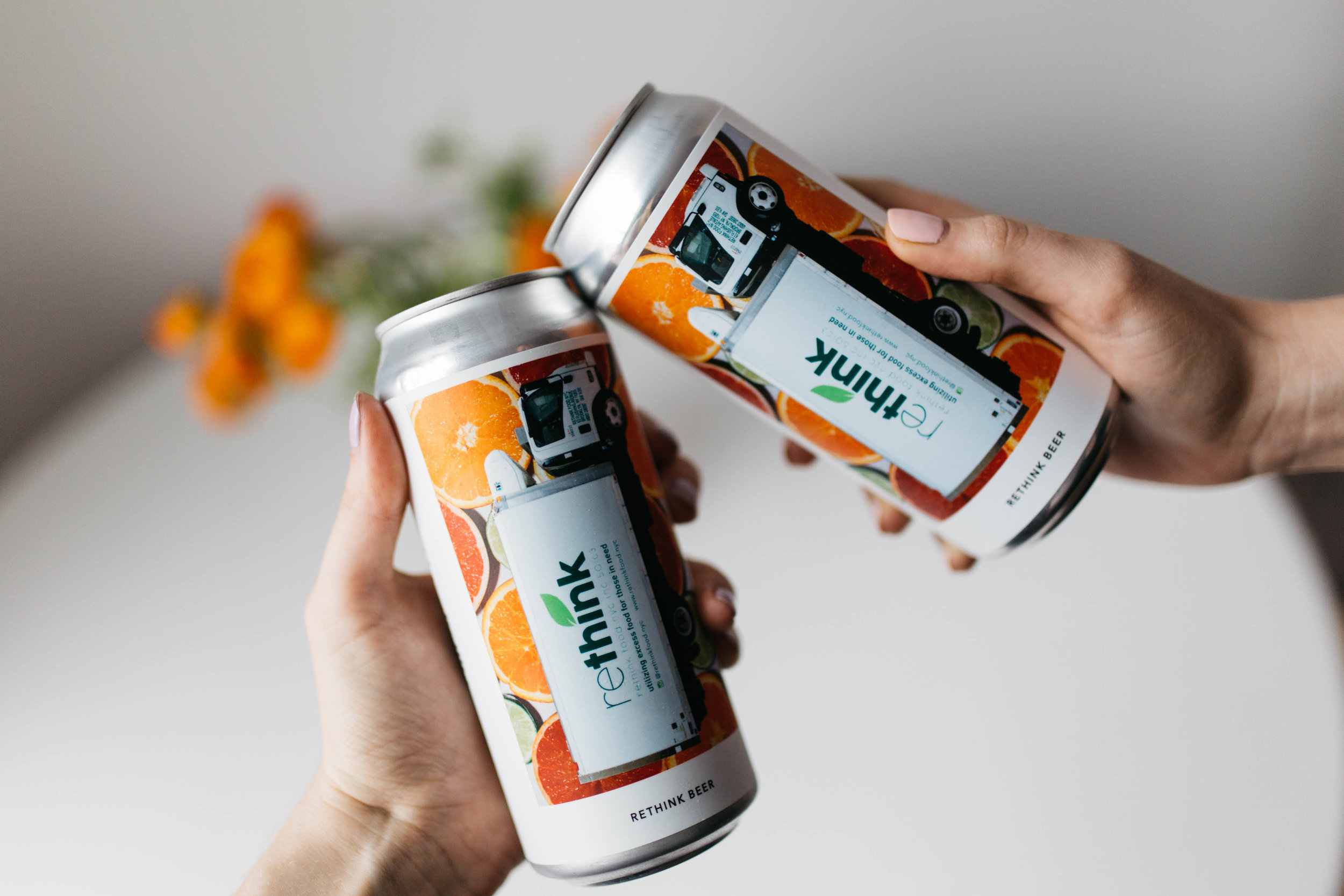 RETHINK X EVIL TWIN - Rethink, Evil Twin Brewing NYC, and the Nomad Bar to Release Limited-Edition Beer from Repurposed Ingredients