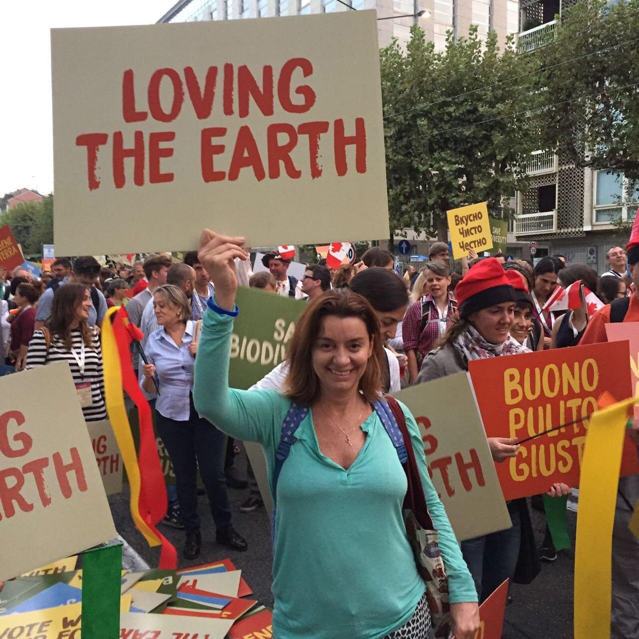 Andrea Russo na passeata do Slow Food - Terra Madre2016 - Turim.jpg
