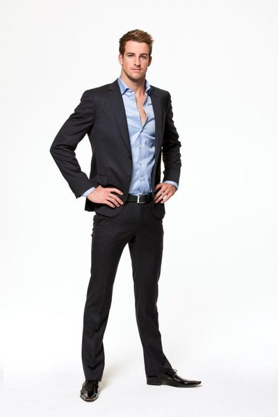 James Magnussen in Suit