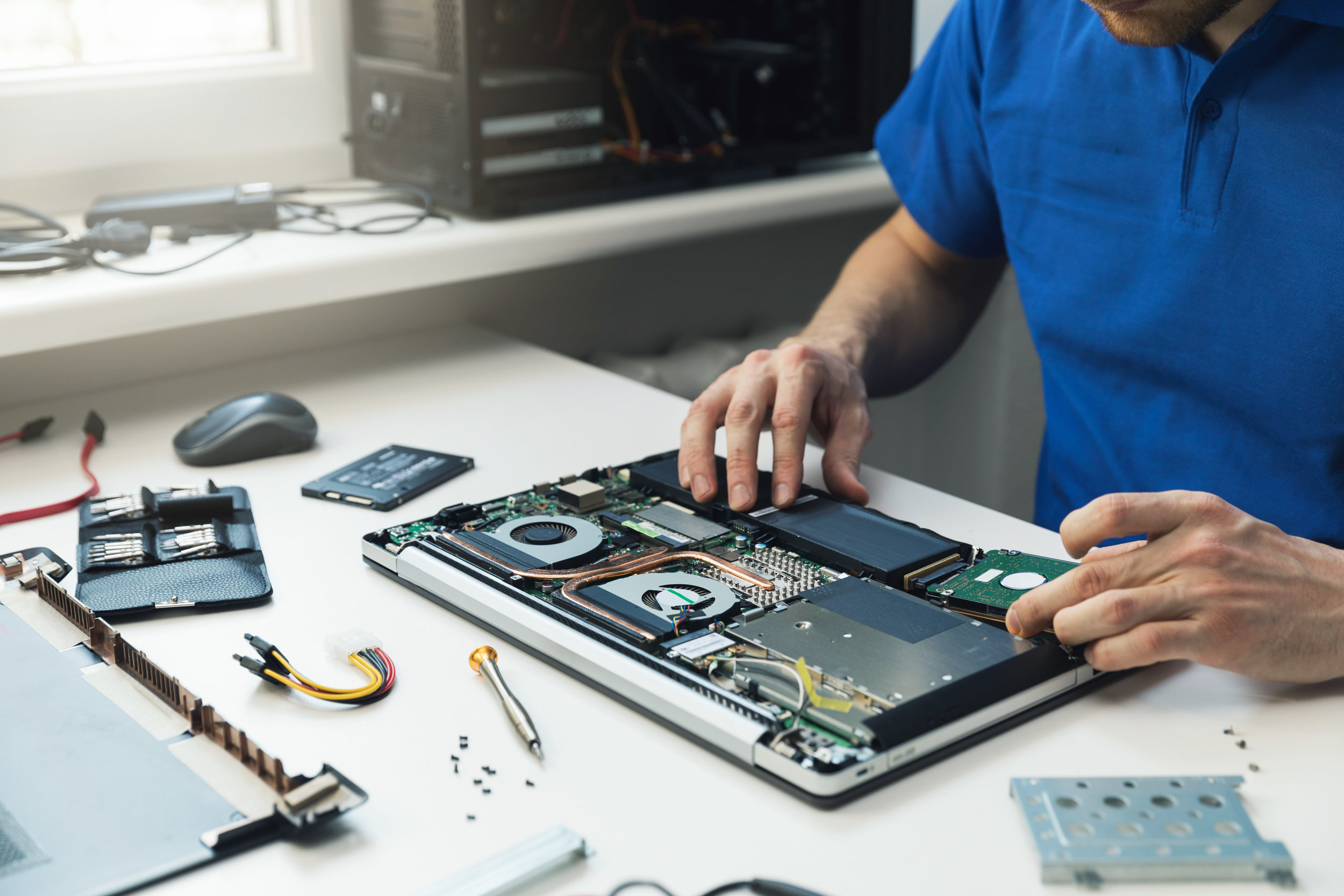 In-Shop Tech Support - You Bring It To Us, We Fix it QuickOur Lowest Rates & Fast TurnaroundPC, Notebook & Server RepairVirus & Spyware RemovalData RecoveryComponent Upgrades