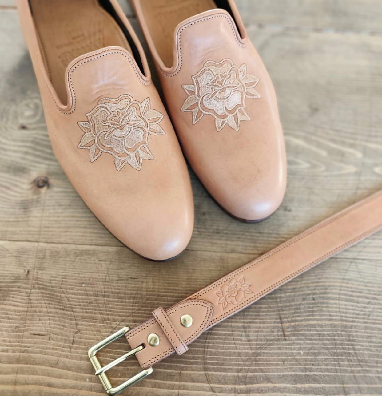 Love Jules Leather | Natural Essex